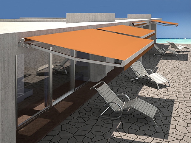 Folding Arm Awnings Melbourne   Retractable Awnings - nu-Style